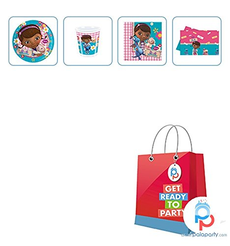 palaparty. COM - Kit für Party Mädchen Doc McStuffins Dotty
