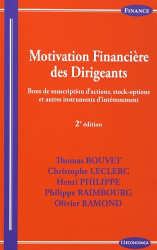 motivation-financire-des-dirigeants-2e-ed-bons-de-souscription-d-39-actions-stock-options