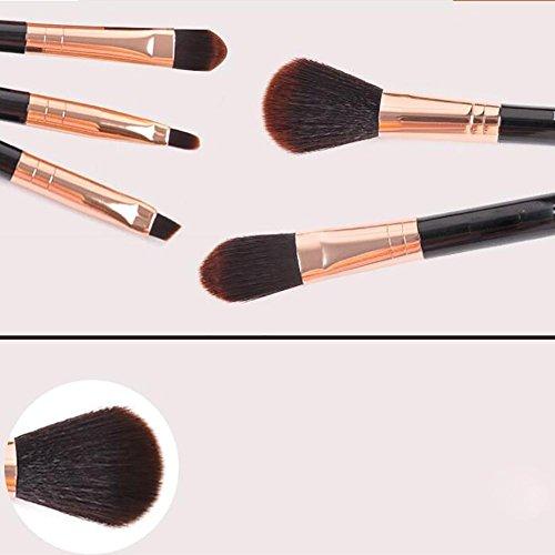 guo brosses de maquillage des yeux 5 kit outil pinceau blush fondation portable le bon ski. Black Bedroom Furniture Sets. Home Design Ideas