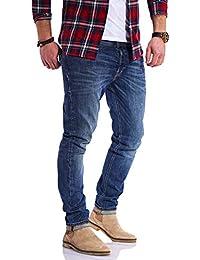 JACK & JONES Herren Jeans Glenn ARIS Slim Fit Stretch Denim