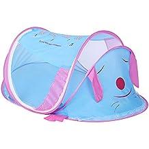 binghang bebé viaje cama, cama de bebé portátil plegable cuna mosquitera bebé Yurts redes perro Sharp cuna Red