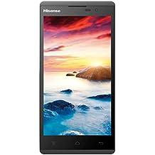 "Hisense L691 - Smartphone 4G de 5"" (1280 x 720 píxeles, IPS, Qualcomm Snapdragon MSM8926 1.2 GHz, 8 GB), color blanco y negro"