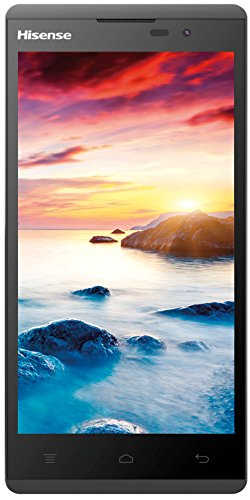 Hisense Sero 5 L691 Smartphone (Qualcomm MSM8926 Quad Core Prozessor, 12,7 cm (5 Zoll) Display, 8 Megapixel Kamera) schwarz