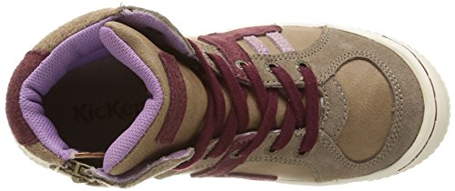 Kickers  Ziguers,  Sneaker Ragazza Grigio (Gris (Gris Clair))