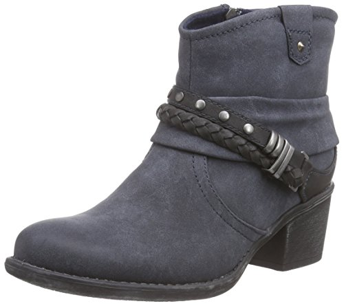 Jane Klain 253 281 Damen Biker Boots Blau (Navy 838)
