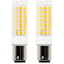 1819 BA15D bombillas LED de intensidad regulable 6 W equivalente a 75 W bombilla halógena,