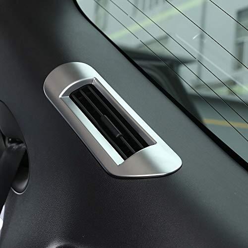 8 pcs Plastique Chrome Centre Int/érieur Climatisation Vent Outlet Bandes Trim pour Freelander 2 2008-2015 accessoire Auto