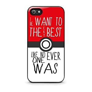 Coque iPhone 5/5S - Pokemon Pikachu Quote