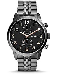 Fossil FS4934 Chronograph Black Dial Smoke PVD Men's Men's Watch
