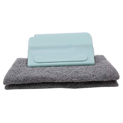 LJSLYJ Fugenbürste für Bad Küche Reinigt Effektiv Fugenfliesen Fenster Schimmel Oberflächlich (blau)