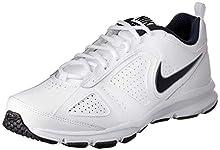 Nike T-Lite XI, Scarpe da Ginnastica Uomo, Bianco (White/Obsidian/Black/Metallic Silver 101), 44 EU (9 UK)