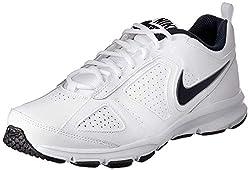 Nike Herren T-Lite Xi Low-Top, Weiß (White/Obsidian-Black-Metallic Silver 101), 45.5 EU