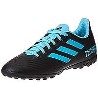 adidas Predator TAN 19.4 Turf Boots Men's Soccer Shoes, Black, 10 UK (44 2/3 EU)