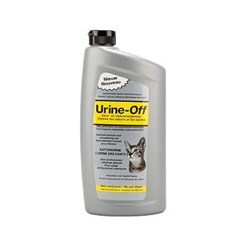 Urine Off Chat - Détachant Moquette/Tapis/Textile - 946 ml