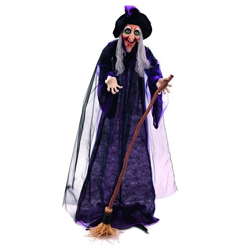Euro Palms 83314624 Halloween Hexe, animiert (Halloween-hexe Animierte)