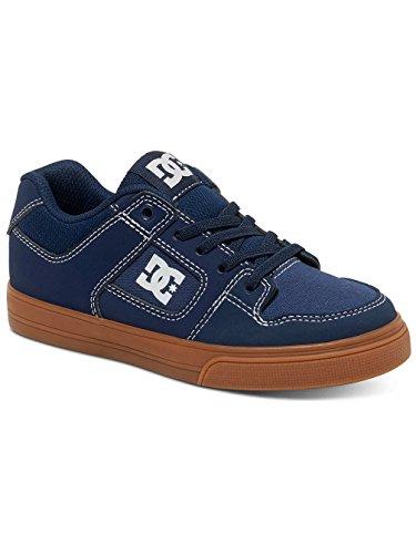 Kinder Sneaker DC Pure Elastic Sneakers Boys Navy/Gum