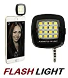 #6: Voltac Mini Portable 16 LED Spotlight led Selfie Flash Fill Light for iPhone and Android Devices Model 350860
