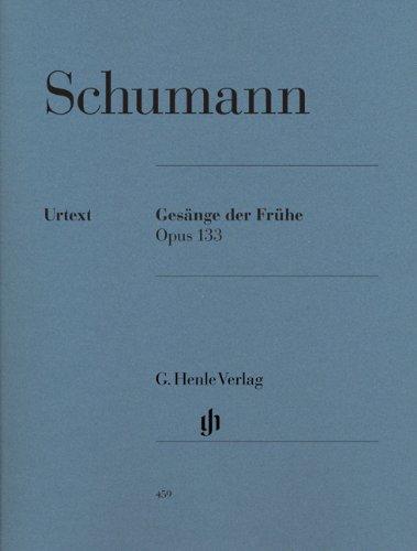 Gesänge der Frühe Opus 133 (Chant du Matin) - Piano