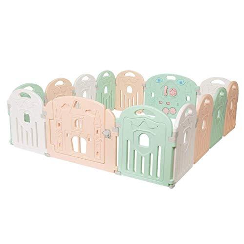 Sunny Niedlicher Mode-Baby-Zaun, Kleinkind-kriechender Matten-Teppich-Innenspielplatz-Schutzzaun, Kinderspiel-Zaun 180x200cm (Color : #2)