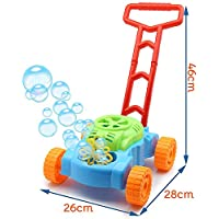 Toyland® Lawn Bubble Mower Push Along Toy Lawnmower - Outdoor Toys & Garden Play