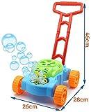 TOYLAND Lawn Bubble Mower Empuje el Juguete Cortacésped - Juguetes al Aire Libre y Juegos de jardín