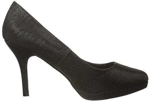 MENBUR - Yedra, Scarpe col tacco Donna Nero (Nero (nero))