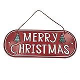 Zedo Metall Weihnachtsanhänger Tür Hängende Ornamente Weihnachtsbaum Ornamente Türhänger Weihnachtsbaum