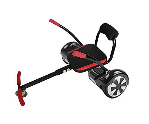Patn-nios-elctrico-2-ruedas-Asiento-HoverKart-negro-y-rojo