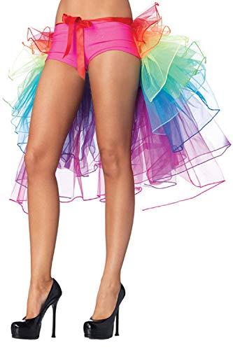 SAMGU Gonna Ballerina Arcobaleno Pizzo Tutu Tulle Gonna Costume da Ballo, Burlesque Costume Nastro Cravatta Gonna Gonna Party Fancy Dress Taglia Unica