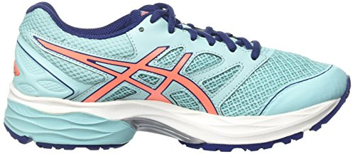 Asics Gel-Pulse 8, Chaussures de Running Entrainement Femme Multicolore (Aqua Splash/flash Coral/indigo Blue)