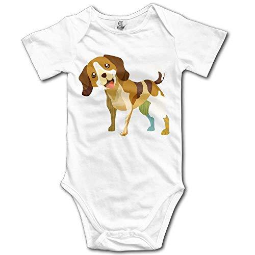 MUAIKEJI Nature Dog Breed Beagle Pet Lover Cotton Infant Onesie Baby Bodysuit -