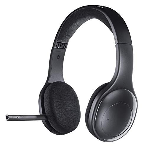 Logitech H600 Wireless Headset für PC und Mac (Zertifiziert generalüberholt) schwarz Schwarz