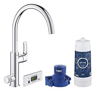 Grohe 30383000-Blue Pure Eurosmart 30383000 Kit de iniciación (cromo)