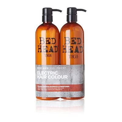 Tigi Bed Head Colour Goddess Shampoo and Conditioner Du0 Set 750 ml - cheap UK bed store.