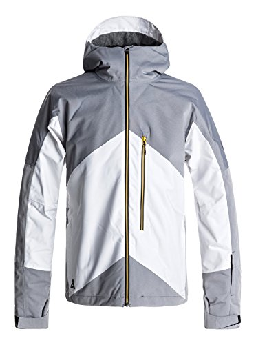 Quiksilver Stencil - Snow Jacket - Snow Jacke - Männer - XS - Weiss