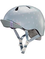 Bern Nina casco de bicicleta para niña, color Seaglass Polka, tamaño S-M