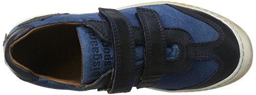 Bisgaard Tex Boot-61016216_60, Sneakers basses mixte enfant Bleu (605-1 Mer)
