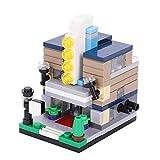 Baustein kreativ Spielzeug Bausteine Haus Straßenansicht Theater Form groß aus Kunststoff Bauklötze lustig in Schule Kindergarten Baukasten für Jungen Mädchen Kinder ab 3 Jahrals Weihnachten Geschenk