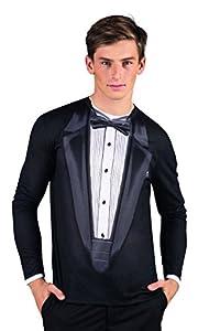 Boland 84209 - Camisa Gala fotorrealista, disfraces para adultos
