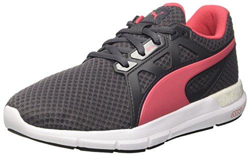 Puma Ignite V2, Zapatillas de Running, Mujer, Negro (Periscope/Black/Aged Silver/Purple Cactus Flower), 36 EU