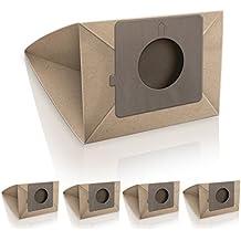 ✧WESSPER® Bolsas de aspiradora para LG TURBO 2700 (5 piezas, papel)