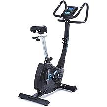 CapitalSports Durate Bicicleta estática profesional (resistencia magnética ajustable, manillar 4 Kg, 8 niveles