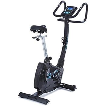 Capital Sports Durate X77 • Cyclette • Ergometro • Cardio-bike da Camera • Cardiofrequenzimetro • Resistenza regolabile su 8 livelli • Display LCD • Volano 4Kg • 9 programmi preimpostati • max. 100Kg. • Nera