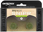 KontrolFreek FPS Freek Snipr for Xbox One Controller | Performance Thumbsticks | 2 High-Rise Convex (Domed) |