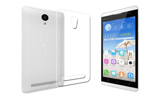 ECellStreet Exclusive Transparent Soft Back Case Cover Back Cover for Vivo Y28 Y 28  available at amazon for Rs.169