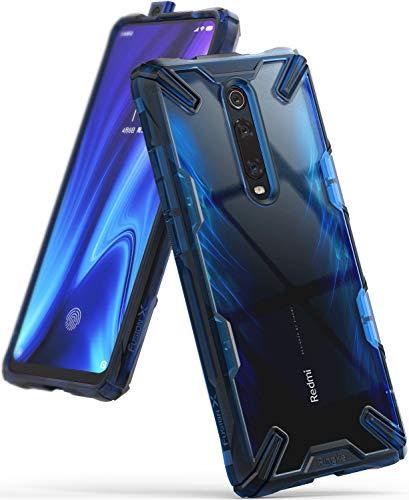 Ringke Fusion-X Diseñado para Funda Xiaomi Mi 9T, Mi 9T Pro, Redmi K20, Redmi K20 Pro Protección Resistente Impactos Carcasa Xiaomi Mi 9T, Funda para Xiaomi Mi 9T Pro (2019) - Space Blue