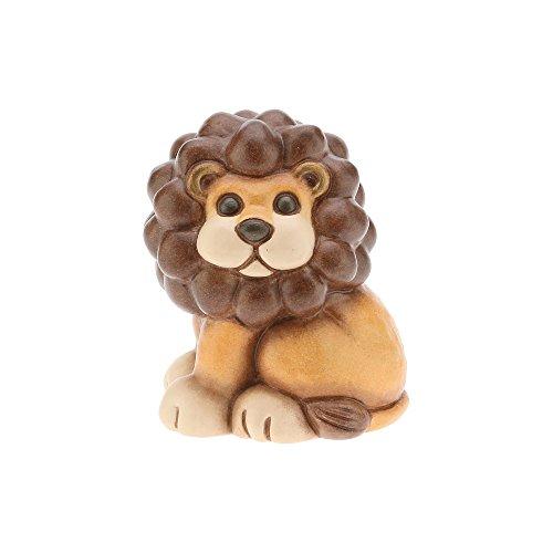 Thun i classici leone, ceramica, multicolore, 6.2 x 5.5 x 8.6 cm