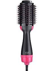 CTlite Brosse Soufflante Rotative, Sèche-Cheveux Brosse à Cheveux Electrique Multifonctionnels fer à friser Défrisant Bigoudi et Styler Brosse à Cheveux à ions Négatifs