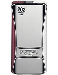 L'Oréal Paris Indefectible Kompakt-Lippen-Duo Lippenstift, 202 Addictive Plum
