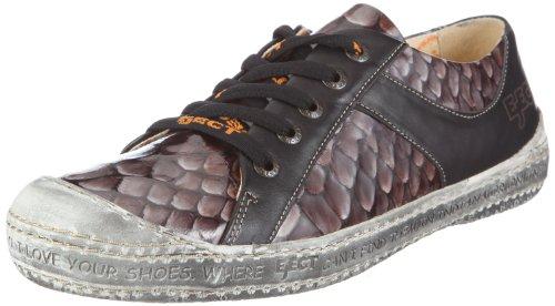 Eject DASS E-14005/1, Sneaker donna, Nero (Schwarz/anaconda charol/benisa black), 37